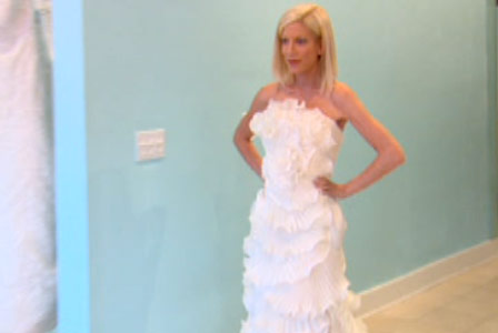 Emejing Tori Spelling First Wedding Dress Contemporary - Styles ...