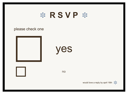 Invitation With Rsvp Wording with perfect invitations design