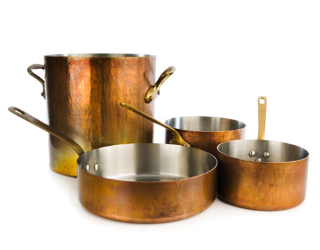 many of us are living with handmedown pots and pans and thatu0027s fine for a time when you get serious about cooking you start to get equally serious - Copper Pots