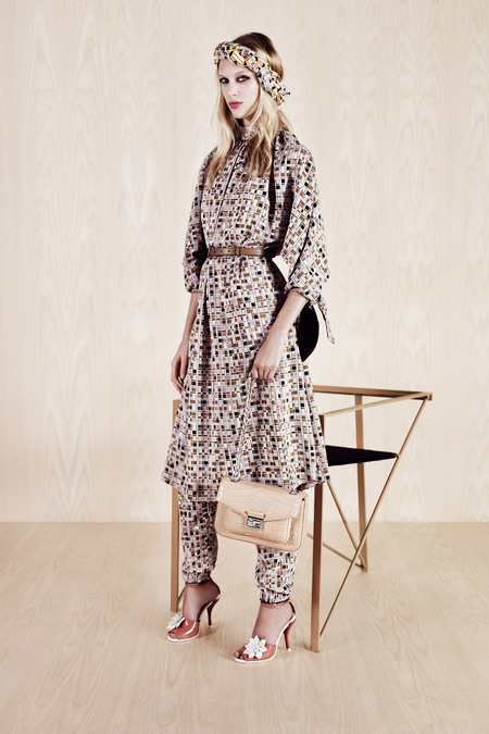FENDI RESORT 2014 JULIANA SCHURIG