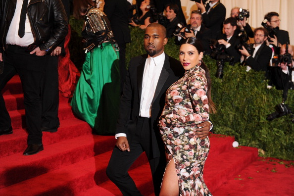 KIM AND KANYE MET BALL