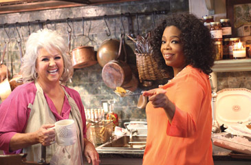 OPRAH KNOWS ABOUT PAULA DEEN