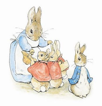 BEATRIX POTTER ONE LEFT OUT