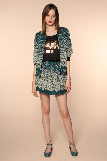 ANNA SUI RESORT 2014 1