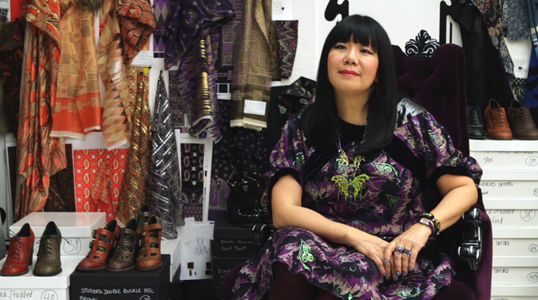 ANNA SUI SITS