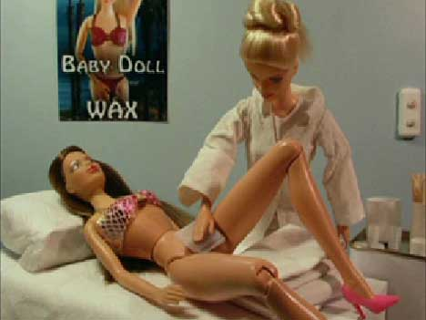 BARBIE WAX