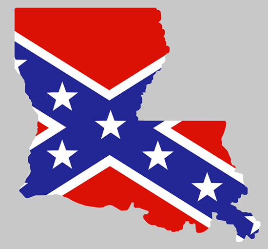 LOUISIANA CONF FLAG