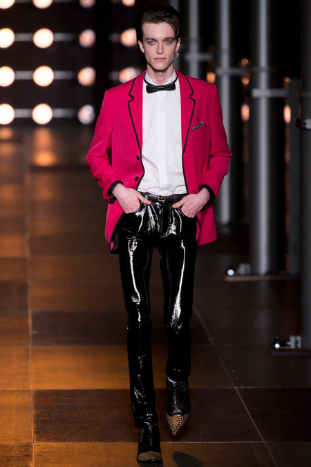 SAINT LAURENT MENSWEAR SPRING 2014 1