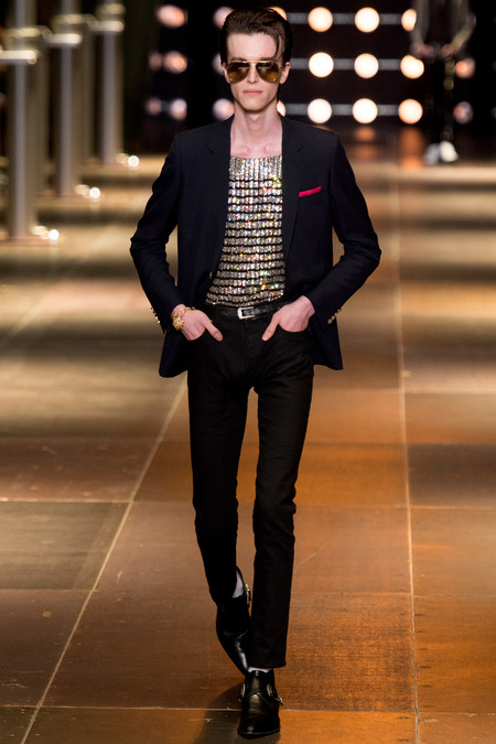 SAINT LAURENT MENSWEAR SPRING 2014 10