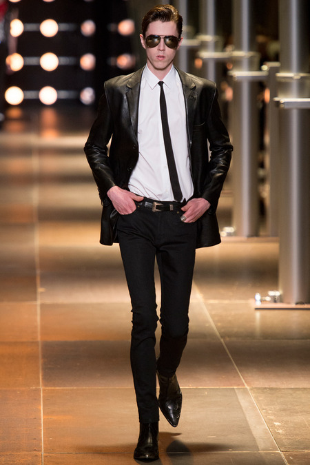 SAINT LAURENT MENSWEAR SPRING 2014 3