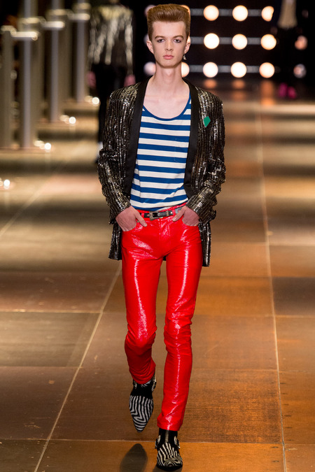 SAINT LAURENT MENSWEAR SPRING 2014 9