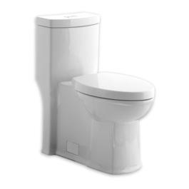 SQUARE SMOOTH SIDED TOILET