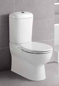 TOP FLUSH SMOOTH SIDED TOILET