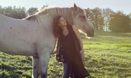 Neko Case on her horse farm in rural Vermont