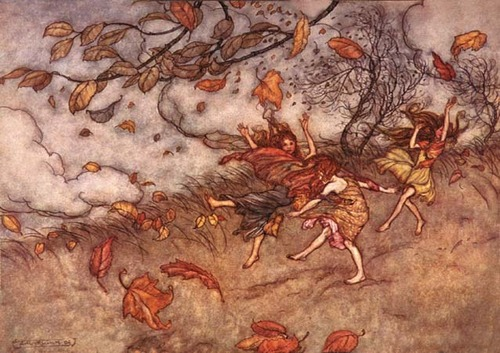 RACKHAM JOY OF A FALLEN LEAF