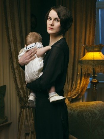 DOWNTON ABBEY SEASON 4 LADY MARY AND GEORGE