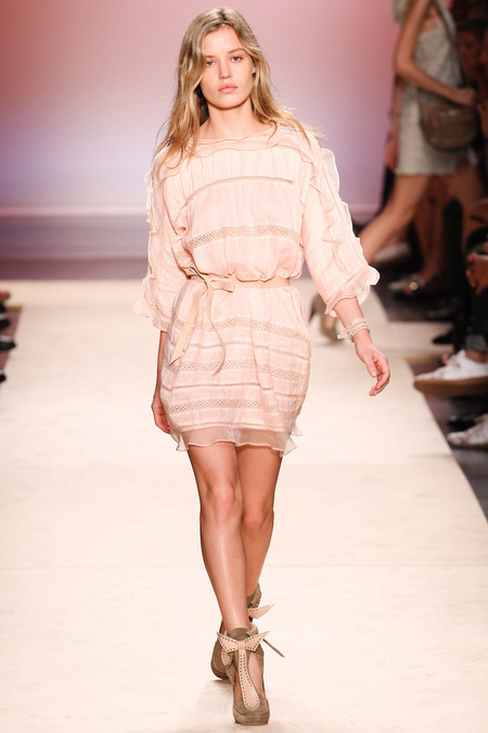 ISABEL MARANT SPRING 2014 RTW GEORGIA MAY JAGGER