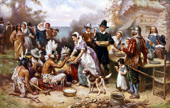 THANKSGIVING MYTH