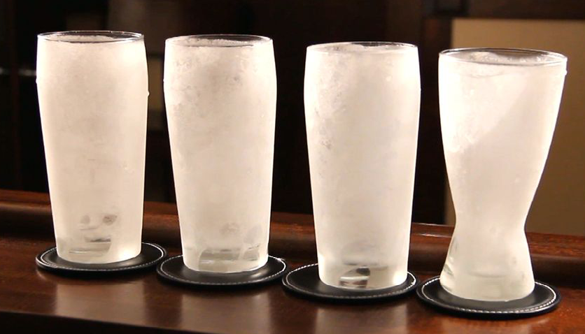 FROSTY GLASSES