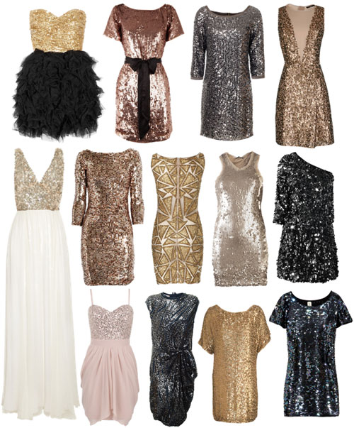 SEQUINED DRESSES OF FUG