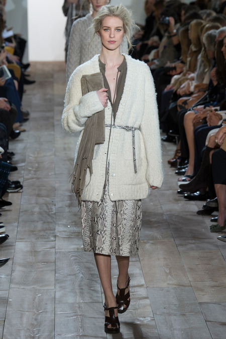MICHAEL KORS FALL 2014 RTW JULIA FRAUCHE