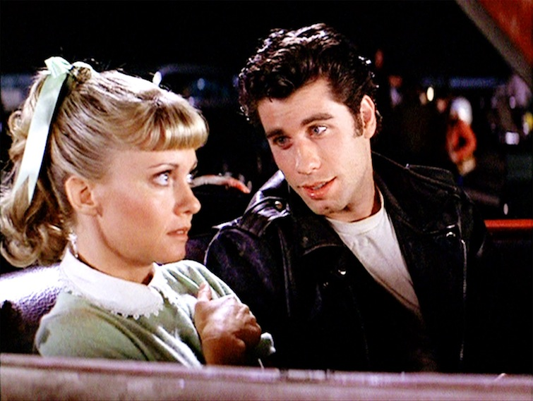 ONJ AND JOHN TRAVOLTA GREASE
