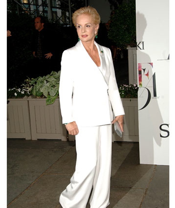CAROLINA HERRERA WHITE SUIT