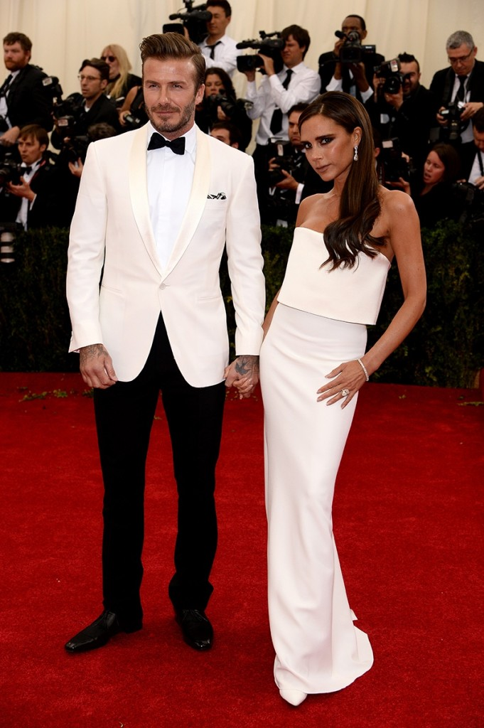 DAVID AND VICTORIA RALPH LAUREN MET BALL