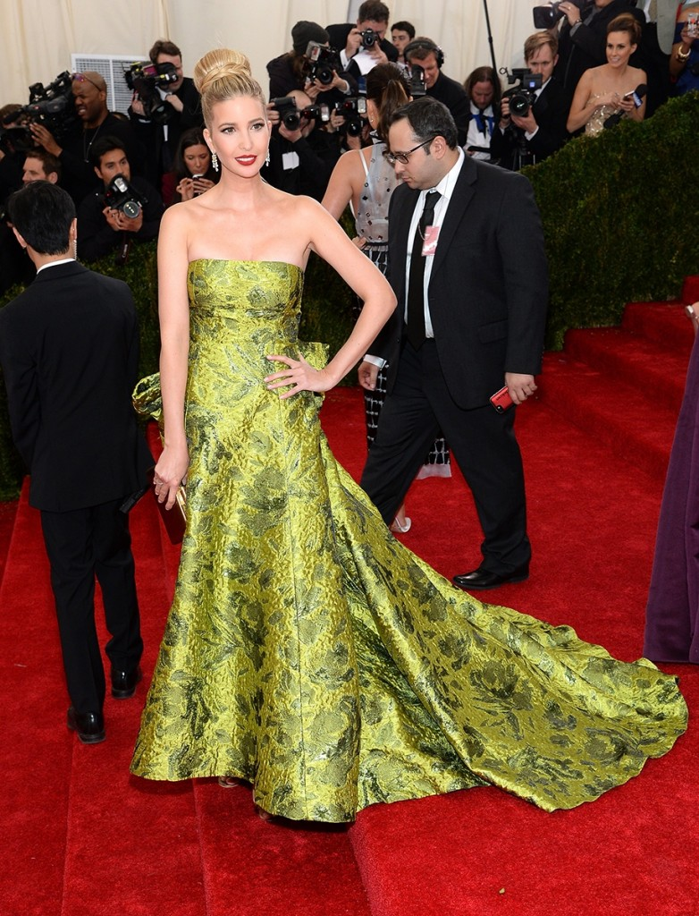 IVANKA TRUMP MET BALL 2014