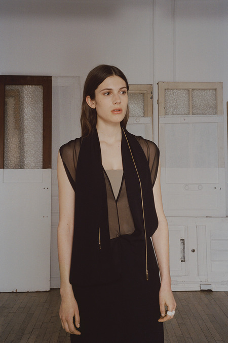 MAISON MARTIN MARGIELA RESORT 2015 BLOUSE