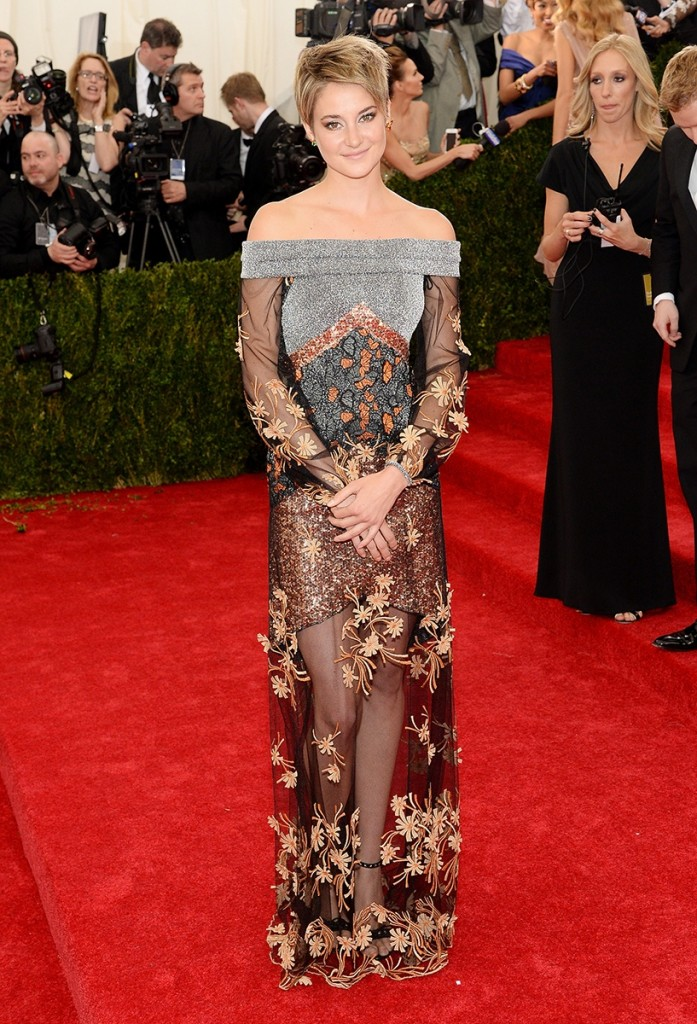 SHAILENE WOODLEY MET BALL 2014