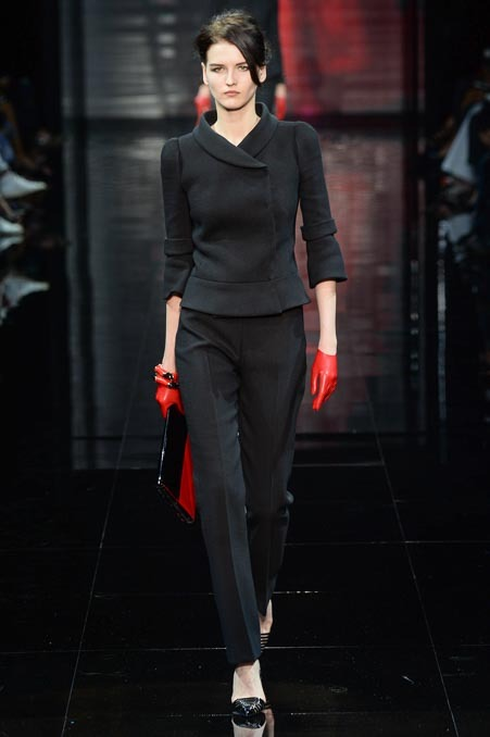 ARMANI PRIVE FALL 2014 COUTURE 2