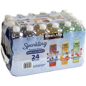 KIRKLAND SIGNATURE SPARKLING FLAVORED WATER