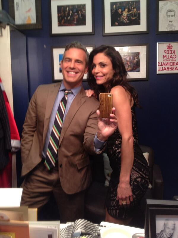 BETHENNY AND ANDY COHEN