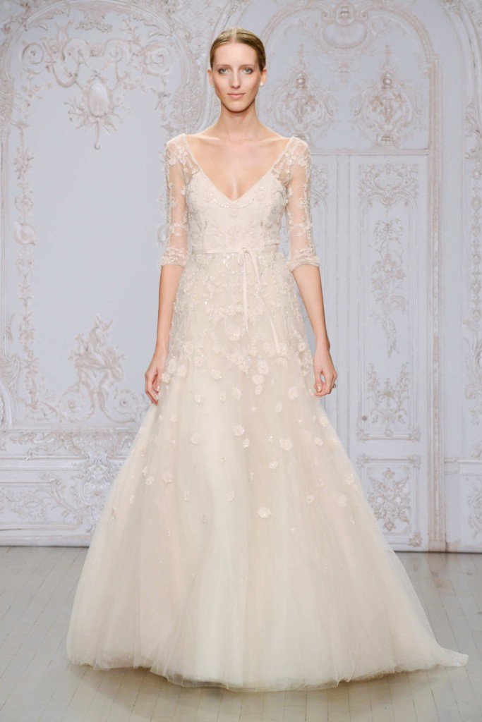 MONIQUE LHUILLER FALL 2015 BRIDAL 1