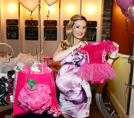 HOLLY MADISON BABY SHOWER