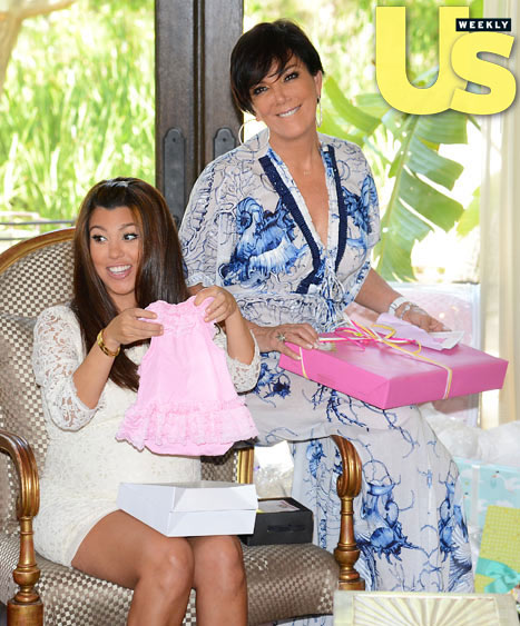 KRIS AND KOURTNEY KARDASHIAN