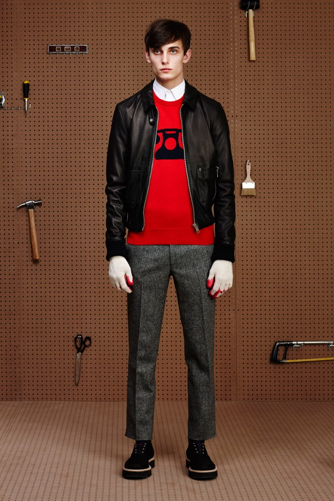 BAND OF OUTSIDERS MENSWEAR FALL 2015 6