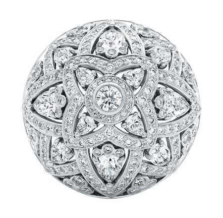 HARRY WINSTON DIAMOND LOTUS RING