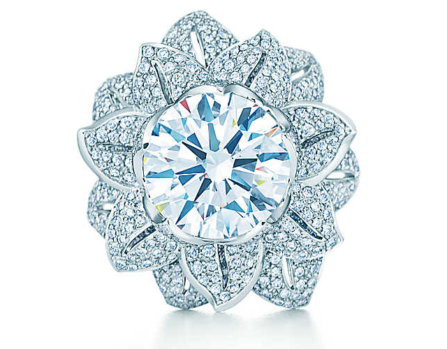TIFFANY GATSBY COLLECTION FLOWER RING