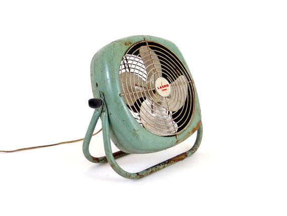 ANTIQUE LASKO FAN
