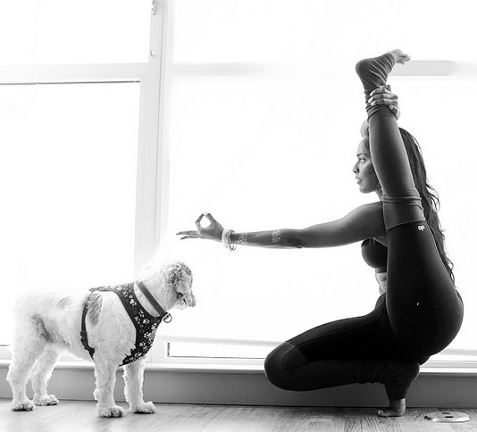 DOGS LOVE YOGA