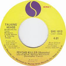 PSYCHO KILLER TALKING HEADS ACOUSTIC